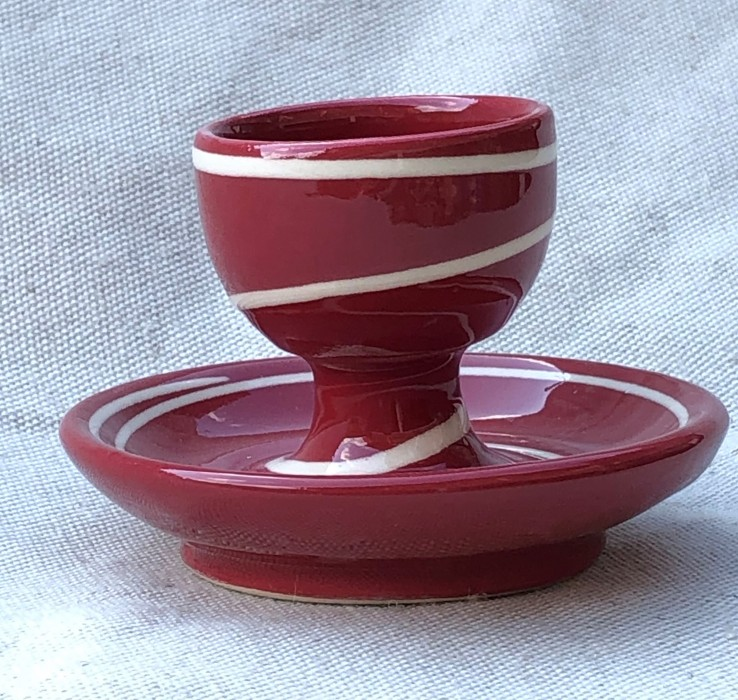 Eggcup red ringed