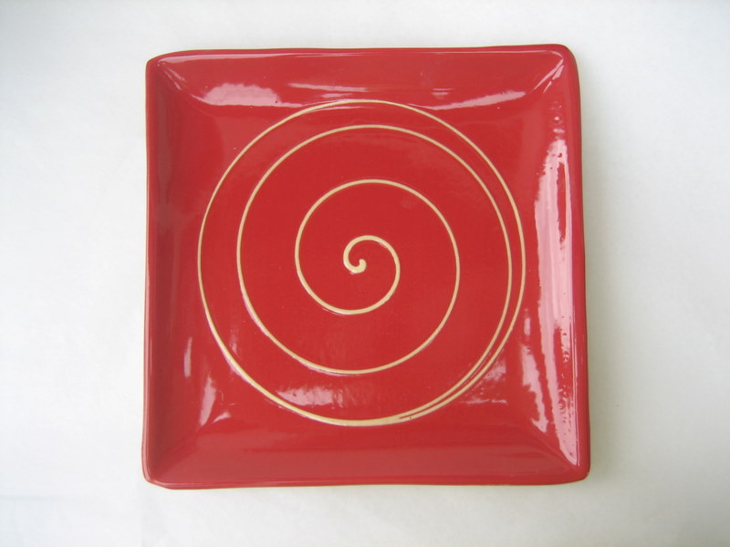 Flate plate small model red ringed